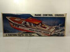 Vintage Weiß & Rot #209 Ferngesteuert Cruiser Spielzeug Boot t6006