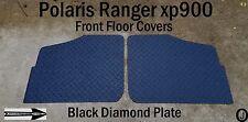 POLARIS RANGER XP900 FULLSIZE black DIAMOND PLATE FLOOR 2013  UP