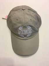 VICTORIA SECRET PINK HAT / BASEBALL CAP / BILL CAP TAN ,NWT ONE SIZE