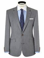 *NEW* JOHN LEWIS 38L Woven In Italy Fine Twill Tailored Suit Jacket RRP £165