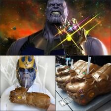 2018 Thanos Infinity Gauntlet Glove Cup Infinity War The Avengers Cosplay Prop