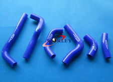For HONDA CRF450R CRF450 02 03 04 2002 2003 2004 Silicone Radiator Hose BLUE