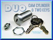Triple-Bitted High-Security Duo-Lock Cam Lock Cylinder (For Cam) Illinois Lock