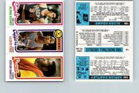 1980 Topps Basketball 240 Dantley & 14 Free & 189 Adams See Scans