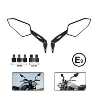 Universal Motorcycle 8 mm 10 mm Side Rear View Mirrors HONDA CBR Yamaha MT ATV