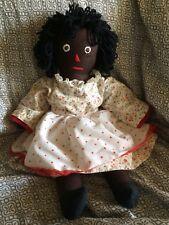 20 Inch Black ( African American) Raggedy Ann style Doll