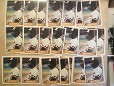 1982 Fleer Eddie Murray Lot of 25 Baltimore Orioles