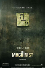 THE MACHINIST (2004) ORIGINAL ADVANCE MOVIE POSTER  -  ROLLED