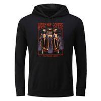 Men's Hoodie Sweatshirts Worship Coffee Jacket Coat Hooded Pullover Unisex