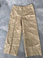 Ralph Lauren Black Label Silk Blend Womens Khaki Pants Khakis Size 8