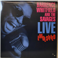 "Barrence Whitefield And the Savages - Live Emulsified -rounder 9017-12 "" LP"