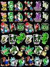 36 Weed Marijuana Cannabis Vinyl Stickers