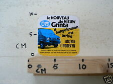 STICKER,DECAL LE NOUVEAU GRINTA OM CAR