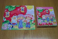 Rose Art STRAWBERRY SHORTCAKE JIGSAW PUZZLE 63 Pieces With Box