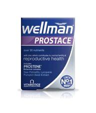 3 BOXES X Vitabiotics Wellman Prostace - 60 Tablets (180 Total)