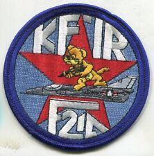 KFIR F21A Jet Military Squadron Patch