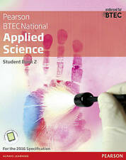 BTEC Level 3 Nationals Applied Science Student Book 2 (Btec Nationals Applied Sc