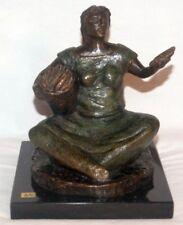 "Jorge Coste (1959 geb.), Bronze - Figur, ""La Marchantita"" 1992"