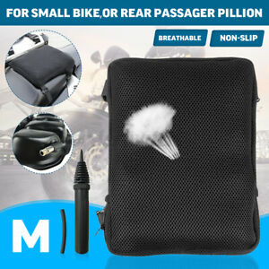 Motorcycle TPU 3D Comfort Seat Cushion Air Pillow Pad W/Cover For Honda  ~