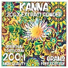 Kanna (Sceletium tortuosum) 200x Extract Powder [5 Grams]