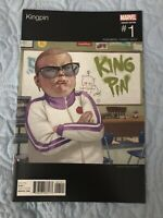 KINGPIN#1 NM 2017 HIP HOP VARIANT MARVEL COMICS Rare Key Comic Get Graded🔥🔥