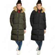 Outdoor Knee Length Quilted Coats & Jackets for Women