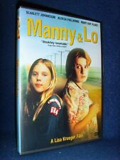 Manny & Lo (Dvd, 2003) No Scratches!+Insert•Usa†¢Out-of-Print!•Scarlett Johansson