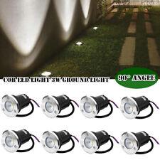 3W Ground Waterproof LED Underground Light Floor Lamp Outdoor Garden Path Buried