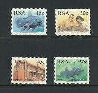 B975  South Africa  1989  fish marine Coelacanth   4v.    MNH