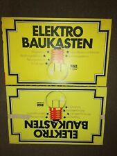 RFT DDR VEB PIKO Elektro Baukasten 2 Stück unvollständig