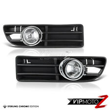 Euro Chrome Fog Light Bumper Lamp Left+Right VolksWagen Jetta 99-05 GLS/GLX/TDI