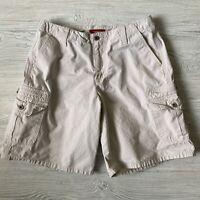 Sundance Cargo Shorts Womens Size 10 Beige Khaki