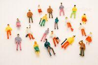 OO Gauge People Figures Characters Plastic Model Railway Layout Scenery 1:76