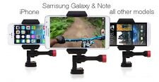 VELOCITY CLIP & HANDLE BAR MOUNT. Turn your iPhone or Samsung phone into a GoPro