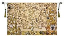 "Tree of Life Full Gustav Klimt Large Tapestry Wall Hanging 84"" x 55"""