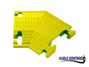"""Kable Kontrol - 1 Channel Medium Duty Rubber Drop Over Cord Covers - 5.25"""" Wide"""