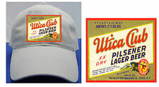 UTICA CLUB BEER LABEL BALL CAP