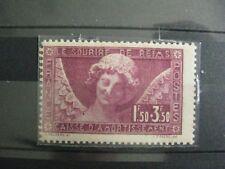 timbres France : l'ange au sourire 1928 Y&T n° 256 *