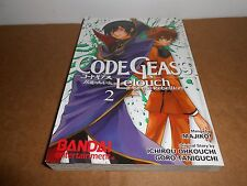 Code Geass: Lelouch of the Rebellion Vol. 2 Manga Graphic Novel Book in English