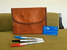Goat Leather Clutch Bag Wallet WWP-C Women Handbag Handmade Billy Goat Designs