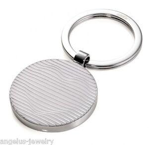 """TROIKA, """"Billow"""", weiß/silber, Schlüsselanhänger rund, Metallguss, 3D Herzoptik"""