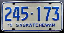 Nummernschild Canada Saskatchewan von 1976. 13569.