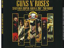 GUNS N' ROSES – 'SAITAMA SUPER ARENA 2017 2ND NIGHT' JAPAN TOUR 2017 3-DISC SET