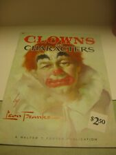 """Walter Foster Art Book """"Clowns and Characters"""""""
