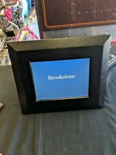 Brookstone Digital Picture Frame Black Wood
