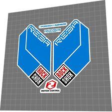 ROCKSHOX Reba RL Dual Air 2011 Fork Sticker / Decal Set