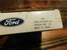 NOS 1978 1979 1980 FORD FIESTA BROWN UPPER BODY TAPE STRIPE KIT NEW NOS FORD