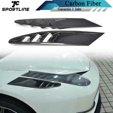 Carbon Front Stoßstangen Lufteinlässe Canards Air Ventfür Ferrari 458 Coupe11-13