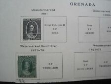 GRENADA : 1 STAMPS 1873-78 (Used)