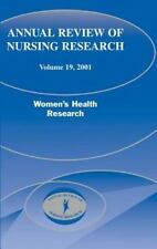 Annual Review of Nursing Research, 2001 by Joyce J. Fitzpatrick (2000,...